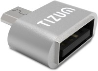 View TIZUM Micro USB OTG Adapter(Pack of 1) Laptop Accessories Price Online(TIZUM)