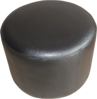 View Amey Leatherette Standard Ottoman(Finish Color - Black) Price Online(Amey)