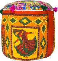 View Rang Rohi Fabric Standard Ottoman(Finish Color - Multi color) Furniture (Rang Rohi)
