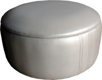 View Amey Leatherette Standard Ottoman(Finish Color - Off White) Price Online(Amey)