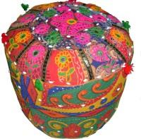 View Saarthi Fabric Standard Ottoman(Finish Color - Mutiple) Price Online(Saarthi)
