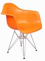 View Ventura Plastic Cafeteria Chair(Finish Color - Orange) Furniture (Ventura)