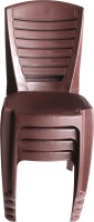View Mavi Plastic Outdoor Chair(Finish Color - Brown) Price Online(Mavi)