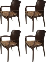 View Supreme Texas Plastic Outdoor Chair(Finish Color - Jordan Brown) Price Online(Supreme)