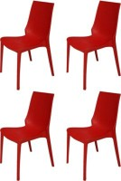 View Mavi Plastic Outdoor Chair(Finish Color - Red) Price Online(Mavi)