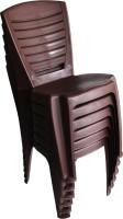 View Mavi Plastic Outdoor Chair(Finish Color - Brown) Price Online(Mavi)