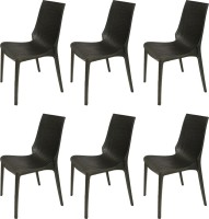 View Supreme Lumina Plastic Outdoor Chair(Finish Color - Black) Price Online(Supreme)