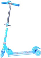 Happy Kidz Foldable And Height Adjustable Scooter For Kids (Arrow)(Blue)