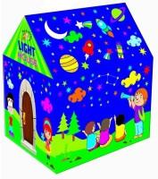 Wave Mart LED Light Tent Play House Kids(Blue)