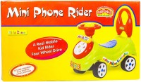 Promobid Mini Phone Rider Rideons & Wagons Non Battery Operated Ride On(Blue)