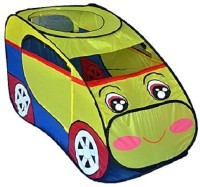 Pigloo Car Pop-Up Tent Play House for Kids(Multicolor)