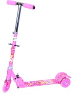 Happy Kidz Foldable And Height Adjustable Scooter For Kids (Sleek)(Pink)