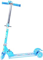 INTRA Kids Foldable, Height Adjustable with wide-footboard Scooter for Kids(Blue)
