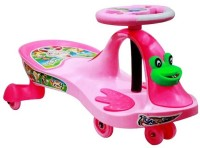 Deep Sales Dsc Frog Rideons & Wagons Ride On(Pink)