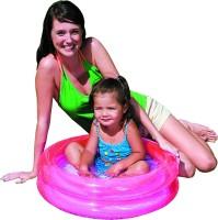 Bestway Round 2-Ring Kiddie Pool(Pink)