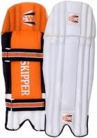 CW Skipper Men's (39 - 43 cm) Men Wicket Keeping Pad(White, Orange, Black, Ambidextrous)