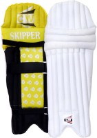 CW Skipper Mens (39 - 43 cm) Men Batting Pad(White, Yellow, Black, Ambidextrous)