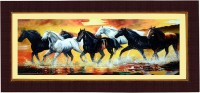 Janki Wonderful Wall Picture Digital Reprint 8.071 inch x 17.71 inch Painting