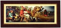 Janki Wonderful Wall Picture Digital Reprint Painting(8.071 inch x 17.71 inch)