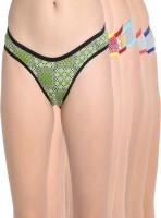 Leading Lady Women's Bikini Multicolor Panty(Pack of 6)