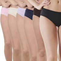 Lure Wear Women's Hipster Multicolor Panty(Pack of 6)