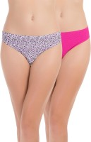 PrettySecrets Fashion Women's Thong Pink, Multicolor Panty(Pack of 2)