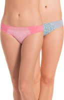 PrettySecrets Fashion Women's Bikini Blue, Pink Panty(Pack of 2)