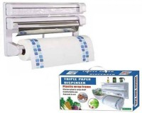 Wonder World ® The Ultimate Kitchen 3-in-1 Tissue & Aluminium Foil Towel Holder Smart Kitchen™ Type-A-672 Paper Dispenser