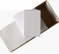 DDS Inkjet Unruled ID 760 gsm Inkjet Paper(Set of 1, White)