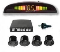 Dvis DV-22 Car Safety System Black Color Parking Sensor(Electromagnetic Systems)