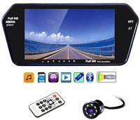 Enfield Works 10 Enfield Works Full HD Touch Screen Bluetooth LED Screen & LED Reverse Camera Parking Sensor(Electromagnetic Systems)