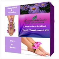 Aromablendz Lavender Mint Foot Care Kit(500 g, Set of 4)
