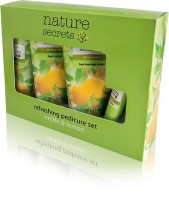 Oriflame Sweden Nature Secrets Refreshing Pedicure Set Nettle & Lemon(460 g, Set of 4)