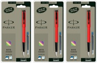PARKER Beta_7294 Fountain Pen(Pack of 3)