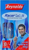 Reynolds RaceMAX - II / FLYMAX II (Pack of 40) + 2pcs free inside Gel Pen(Pack of 40)