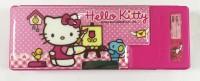DISNEY hello kitty hello kitty Art plastic Pencil Box(Set of 1, pink)