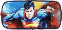 Superman School Plastic Pencil Box(Set of 1, Blue)