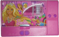 Stuff Jam Barbie Barbie Cartoon Characters Print Art Plastic Pencil Box(Set of 4, Pink)