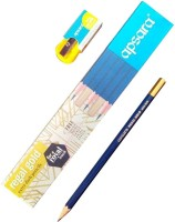 Apsara Regal Gold Pencil(Set of 10, Black)