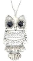 GirlZ! classic owl silver Alloy Pendant