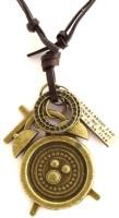 the jewelbox Vintage Brass clock Brass Pendant