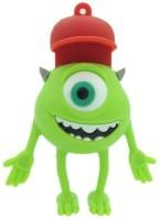 Microware One Eye Monster Red Cap 32 GB Pen Drive(Multicolor)