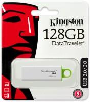 KINGSTON DTIG4/128GB 128 GB Pen Drive(White & Green)