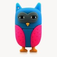 Microware Owl 16 GB Pen Drive(Blue)