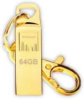 Strontium Ammo 64 GB Pen Drive(Gold)