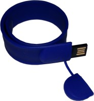 View FLIPFIT 100 % Original Highspeed SILICON STYLISH FASHION WRIST BANDD 32 GB Pen Drive(Blue) Laptop Accessories Price Online(Flipfit)