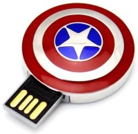 View Storme Captain America 16 GB Pen Drive(Red, Silver) Laptop Accessories Price Online(Storme)