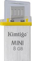 View Kimtigo Mini On The Go Y - Made in Taiwan 8 GB OTG Drive(Yellow, Type A to Micro USB) Price Online(Kimtigo)