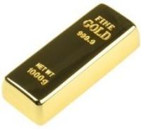 Quace Stylish Gold Bar Usb Pen 16 GB Pen Drive(Multicolor)