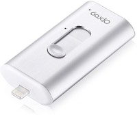 O'pro9 iSafeFile Mobile Ultra-High Speed for Iphone and Ipad 16 GB Pen Drive(Silver)